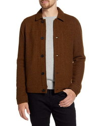 Veste harrington marron
