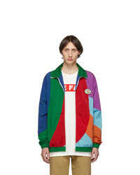 Veste harrington multicolore Gucci