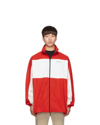 Veste harrington rouge
