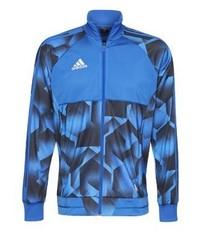 Veste imprimé bleu adidas