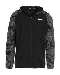Veste imprimé noir Nike