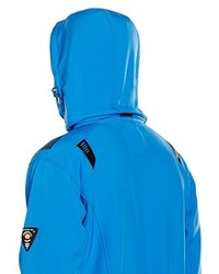 Veste imprimée bleue Geographical Norway