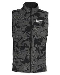 Veste imprimée grise foncée Nike
