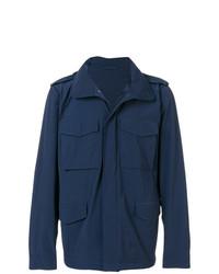 Veste militaire bleu marine Aspesi