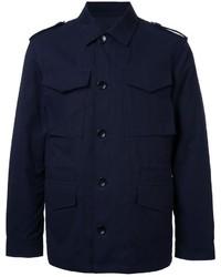 Veste militaire bleu marine Kent & Curwen