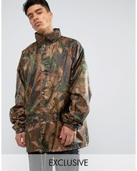 Veste militaire camouflage marron