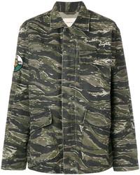 Veste militaire camouflage olive Current/Elliott