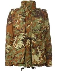 Veste militaire camouflage olive Dsquared2