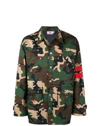 Veste militaire camouflage olive Gcds