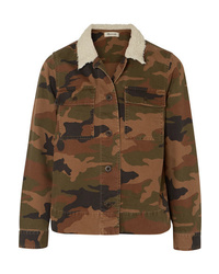 Veste militaire camouflage olive Madewell