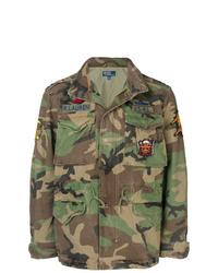 Veste militaire camouflage olive Polo Ralph Lauren