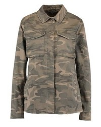 Veste militaire camouflage olive Topshop