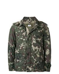 Veste militaire camouflage vert foncé CP Company