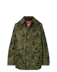 Veste militaire camouflage vert foncé Junya Watanabe MAN