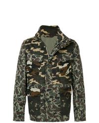 Veste militaire camouflage vert foncé PS Paul Smith