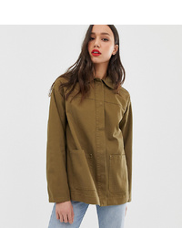 Veste militaire olive Asos Tall