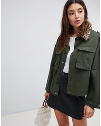 Veste militaire olive Blank NYC