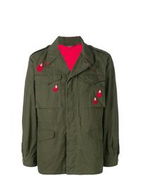 Veste militaire olive Gucci