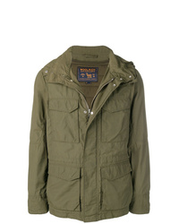 Veste militaire olive Woolrich