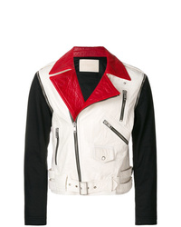 Veste motard multicolore Givenchy