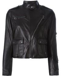 Veste motard noire Marc Jacobs
