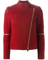 Veste motard rouge Stella McCartney