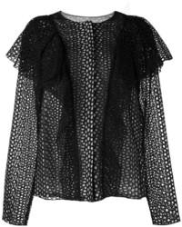 Veste noire Lanvin