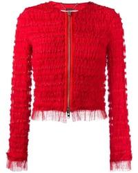 Veste ornée rouge Givenchy