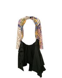 Veste ouverte multicolore Comme Des Garçons Vintage