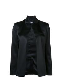 Veste ouverte noire T by Alexander Wang