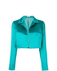 Veste ouverte turquoise P.A.R.O.S.H.