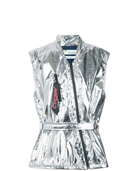 Veste sans manches argentée Off-White