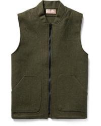 Veste sans manches en laine