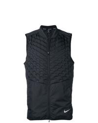 Veste sans manches matelassée noire Nike