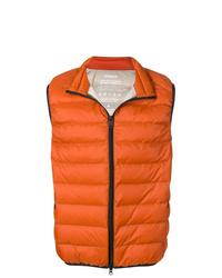 Veste sans manches matelassée orange ECOALF
