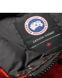 Veste sans manches matelassée rouge Canada Goose