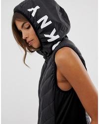 Veste sans manches noire DKNY