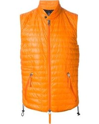 Veste sans manches orange