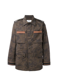 Veste style militaire camouflage olive Fashion Clinic Timeless