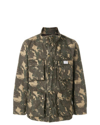 Veste style militaire camouflage olive Neighborhood