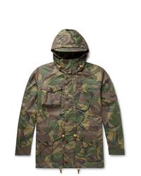 Veste style militaire camouflage olive Polo Ralph Lauren