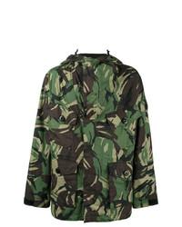 Veste style militaire camouflage olive rag & bone