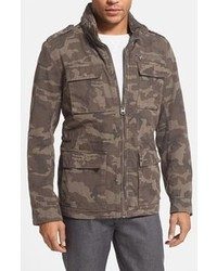 Veste style militaire camouflage