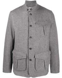 Veste style militaire en laine grise Barbour