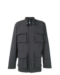 Veste style militaire gris foncé adidas