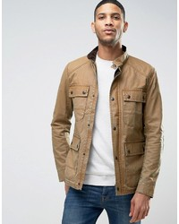 Veste style militaire marron clair Jack and Jones