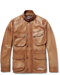 Veste style militaire marron clair Ralph Lauren Purple Label
