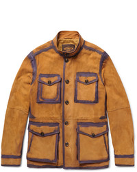 Veste style militaire moutarde Tod's