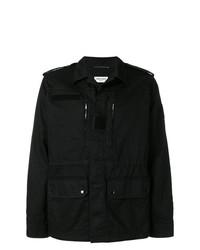 Veste style militaire noire Saint Laurent