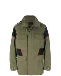Veste style militaire olive Alexander Wang